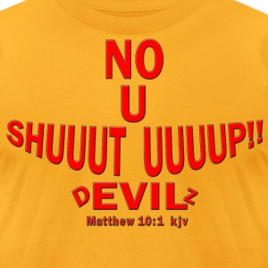 devil down - Men's T-Shirt by American Apparel
