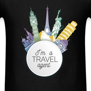 I'm a Travel agent - Men's T-Shirt