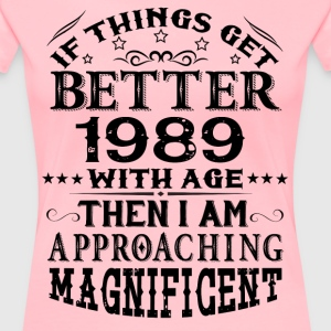 IF THINGS GET BETTER WITH AGE-1989 T-Shirts - Women's Premium T-Shirt