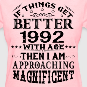 IF THINGS GET BETTER WITH AGE-1992 T-Shirts - Women's T-Shirt