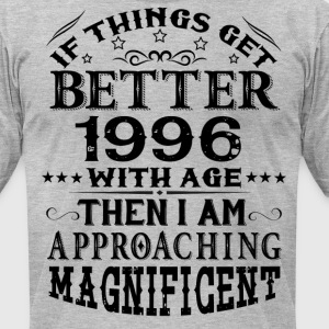 IF THINGS GET BETTER WITH AGE-1996 T-Shirts - Men's T-Shirt by American Apparel