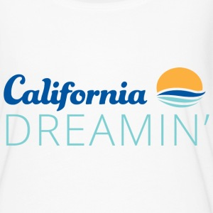 California Dreaming White Flowy TShirt - Women's Flowy T-Shirt