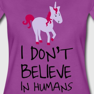 I don't believe in humans T-Shirts - Women's Premium T-Shirt