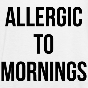 Allergic To Mornings - Women's Flowy Tank Top by Bella