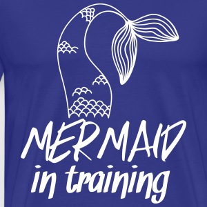 Mermaid in Training T-Shirts - Men's Premium T-Shirt