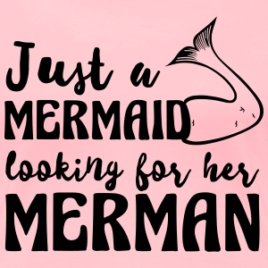 Just a mermaid looking for her merman T-Shirts - Women's Premium T-Shirt