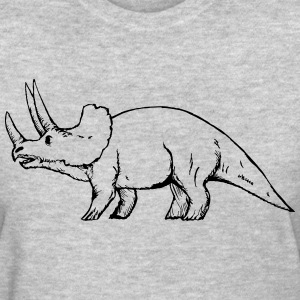 Triceratops T-Shirts - Women's T-Shirt