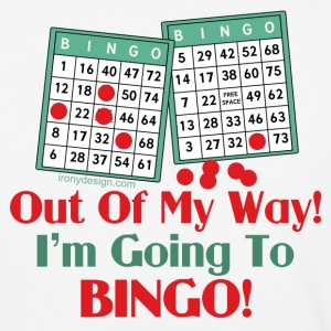 Bingo Funny Saying - Baseball T-Shirt