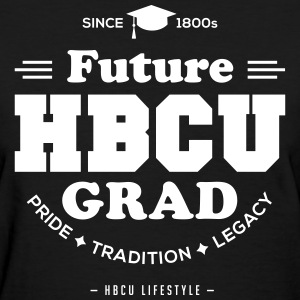Future HBCU Grad - Women's Ivory and Black T-shirt - Women's T-Shirt