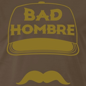 BAD HOMBRES TRUMP T-Shirts - Men's Premium T-Shirt