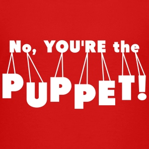 You're the Puppet Trump Hillary Debate Election - Kids' Premium T-Shirt