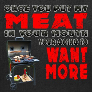 Once you put my Meat in Your Mouth Joke BRS 2 Bags & backpacks - Tote Bag