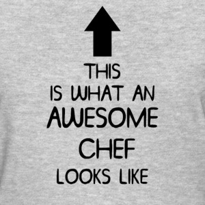 AWESOME CHEF T SHIRT MENS LADIES  - Women's T-Shirt