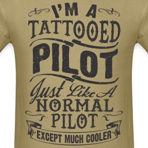 TATTOOED PILOT MEN T-SHIRT - Men's T-Shirt