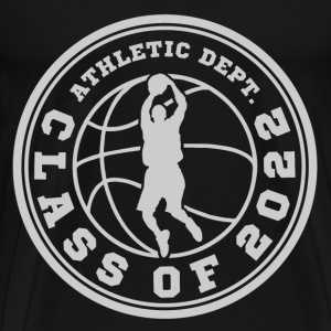 CLASS OF BASKETBALL 20222.png T-Shirts - Men's Premium T-Shirt