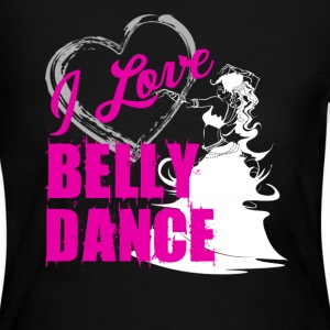 Love Belly Dance Shirt - Women's Long Sleeve Jersey T-Shirt