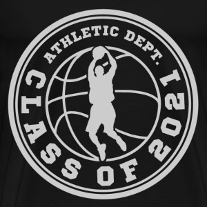 CLASS OF BASKETBALL 20212.png T-Shirts - Men's Premium T-Shirt