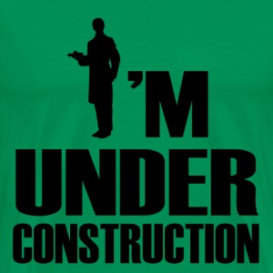 UNDER WAITRES1.png T-Shirts - Men's Premium T-Shirt