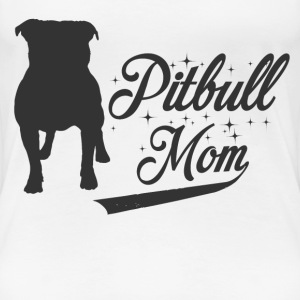 pitbull mom 63.png T-Shirts - Women's Premium T-Shirt