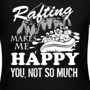 Rafting Make Me Happy - Women's Long Sleeve Jersey T-Shirt