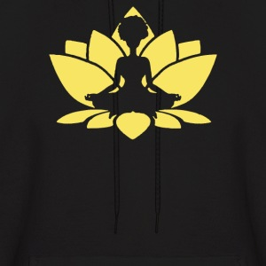 Afrocentric Yoga - Men's Hoodie