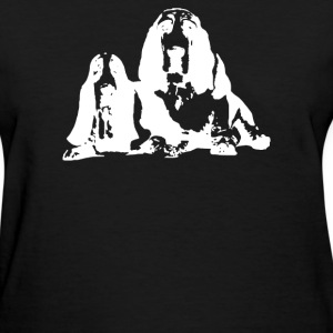 Basset Hound Pillow - Women's T-Shirt