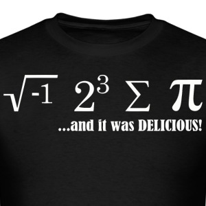 I Ate Some Pie And It Was Delicious - Men's T-Shirt