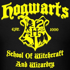 Hogwarts School Of Witchcraft And Wizardry - Men's T-Shirt