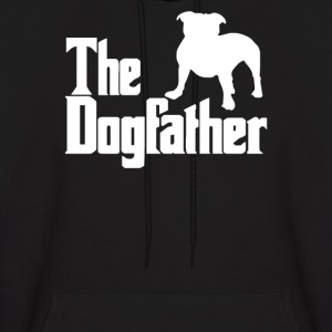 The Dogfather  Nerd Retro Der Pate Godfather Fun - Men's Hoodie