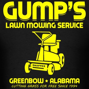 Gump's Lawn Mowing Service - Men's T-Shirt