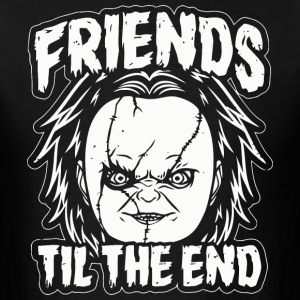 Friends Til The End Chucky - Men's T-Shirt