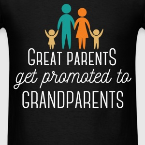 Great Parents get promoted to Grandparents - Men's T-Shirt