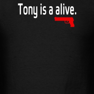 Tony is alive Sopranos - Men's T-Shirt