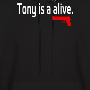 Tony is alive Sopranos - Men's Hoodie