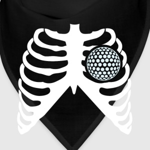 MY HEART HEATS FOR GOLF - I LOVE GOLFING! Caps - Bandana