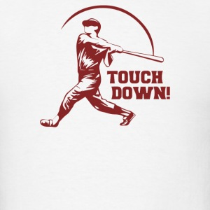 Touch Down Funny - Men's T-Shirt