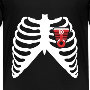 MY HEART BEATS FOR MUSCLE CARS! I LOVE MUSCLE CARS! Baby & Toddler Shirts - Toddler Premium T-Shirt