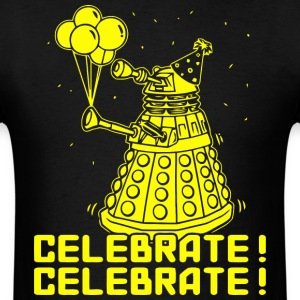 Dalek Celebrate! - Men's T-Shirt