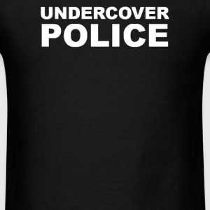 undercover police - Men's T-Shirt