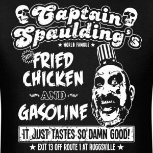 Captain Spaulding's Fried Chicken And Gasoline - Men's T-Shirt