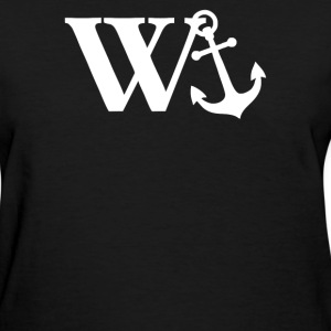 w anchor - Women's T-Shirt