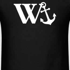 w anchor - Men's T-Shirt