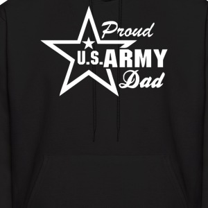 US Army Proud Dad - Men's Hoodie