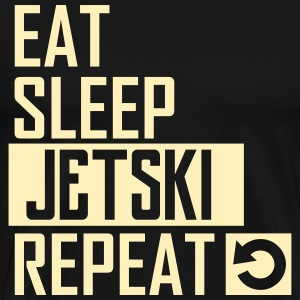 eat sleep jetski T-Shirts - Men's Premium T-Shirt