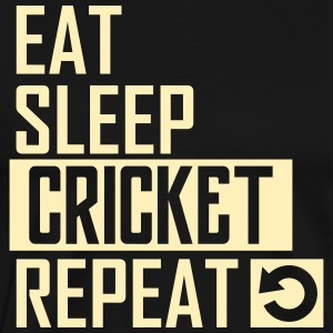eat sleep cricket T-Shirts - Men's Premium T-Shirt
