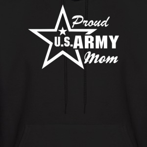 US Army Proud Mom - Men's Hoodie