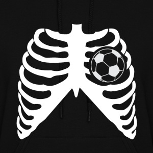 MY HEART BEATS FOR SOCCER - I LOVE SOCCER! Hoodies - Women's Hoodie