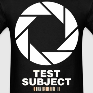 Aperture Test Subject - Men's T-Shirt