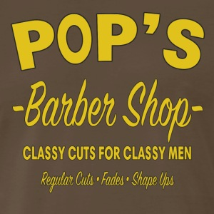 Pop's Barber Shop - Luke Cage - Men's Premium T-Shirt