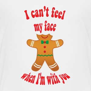 funny Christmas gingerbread man - Kids' Premium T-Shirt